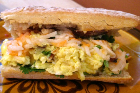 Breakfast Banh Mi